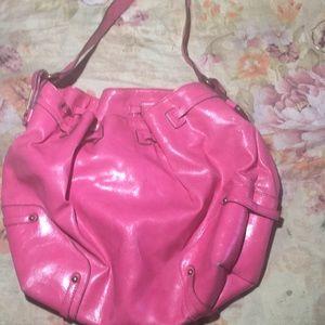 Pretty pink Jessica Simpson handbag